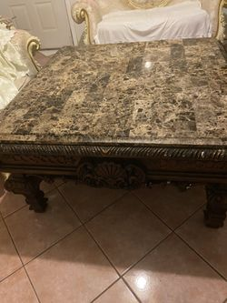 Ashley Furniture Granite Table Thumbnail