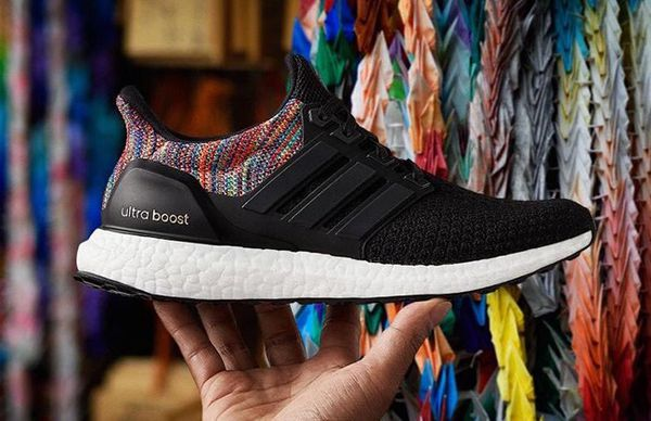 1e065ae5378 Adidas Ultra Boost Rainbow Woman Size 7 Men Size 5.5 for Sale in ...