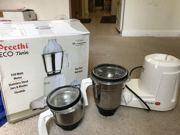 c6a1459317e Preethi ECO Twin mixer grinder for Sale in Falls Church