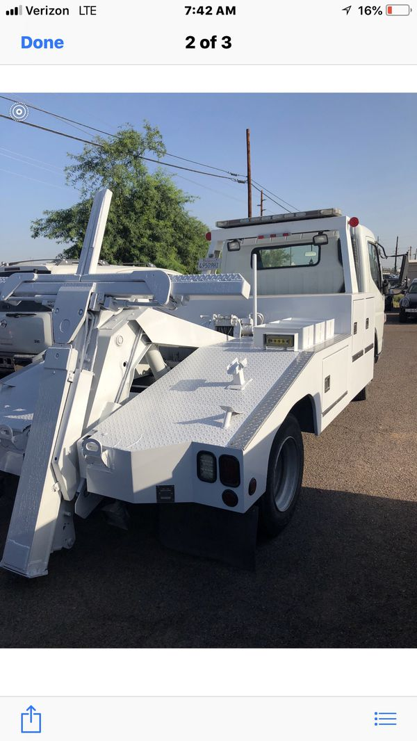 Mitsubishi Fuso fe 160 canter repo/towtruck for Sale in Phoenix, AZ -  OfferUp