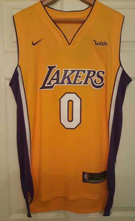 New Large Lakers Kuzma Jersey