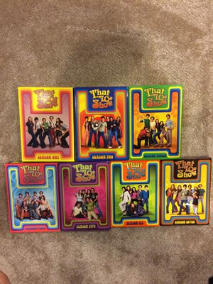 That '70s Show DVDs (seasons 1-7) for Sale in Kensington, MD