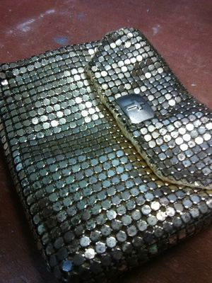 Art deco rhinestone cross pouch 1930-1940s for Sale in Oakland Park, FL