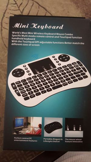 Mini keyboard PERFECT FOR TV BOX. for Sale in Spring Valley, CA