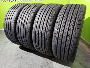 Four 235/50/18 CONTINENTAL PROCONTACT TX SSR *HIGH TREAD* FREE MOUNT AND BALANCE!! for Sale in Tampa, FL