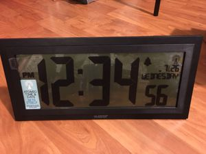 Brand new digital clock for sale for Sale in Gaithersburg, MD