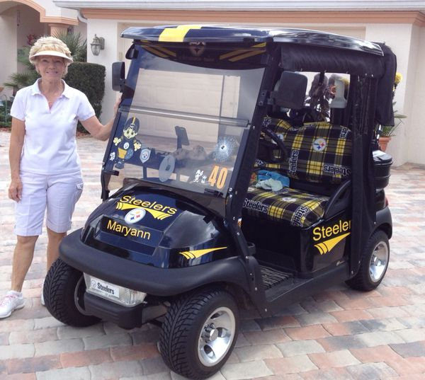 Steelers Golf Cart For Sale In Spring Hill Fl Offerup