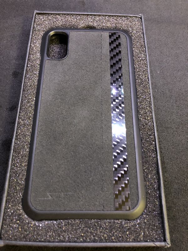 new style cf4a8 0af25 SCF (simply carbon fiber) iPhone X or XS suede and carbon fiber phone case.  for Sale in Scottsdale, AZ - OfferUp