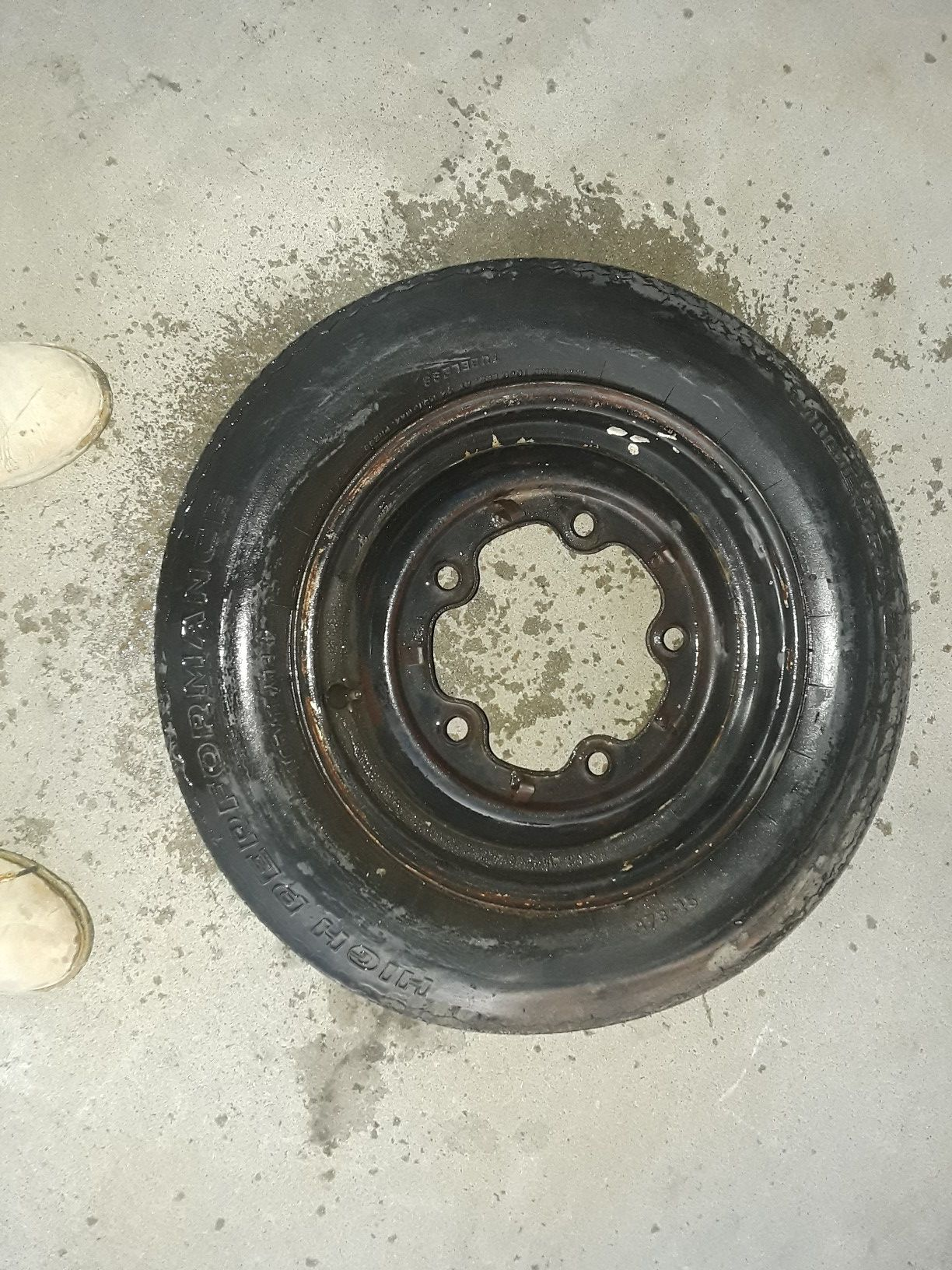 1(contact info removed) 1965 VW bus Wheel and Tire