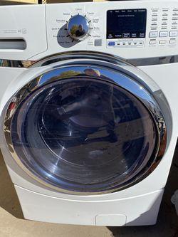 LG White GE Washing Machine Thumbnail