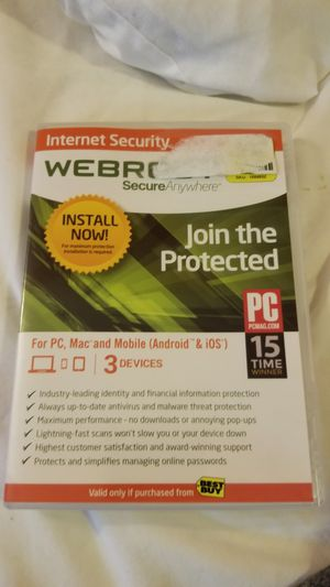 Webroot secure anywhere for Sale in Cleveland, OH