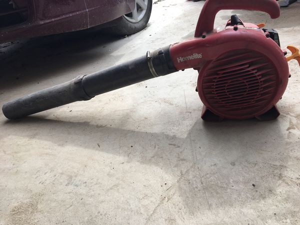 Leaf blower (HOMELITE)(26b) for Sale in Grapevine, TX - OfferUp