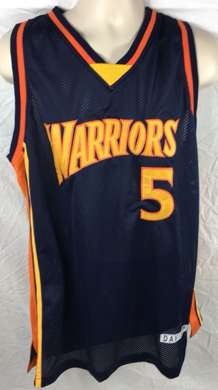 bdd111fe NBA Golden State Warriors Baron Davis #5 Old School Stitched Jersey Size  2XL for Sale in Santa Clara, CA - OfferUp