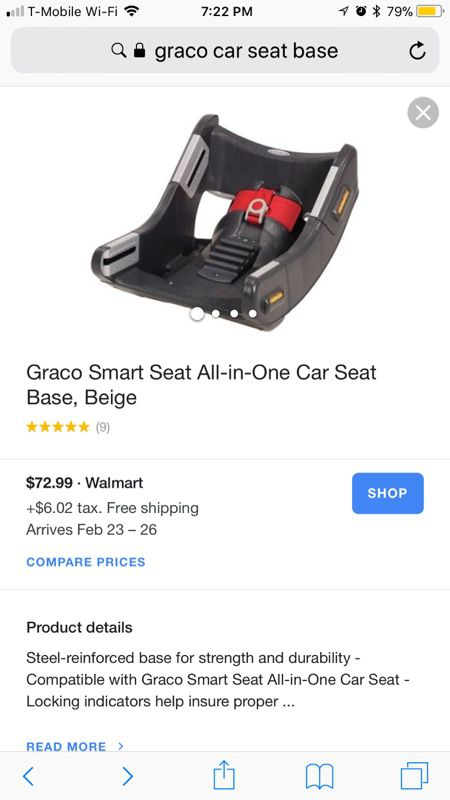Graco Smart Seat All In One Car Bases For Sale Pasadena TX
