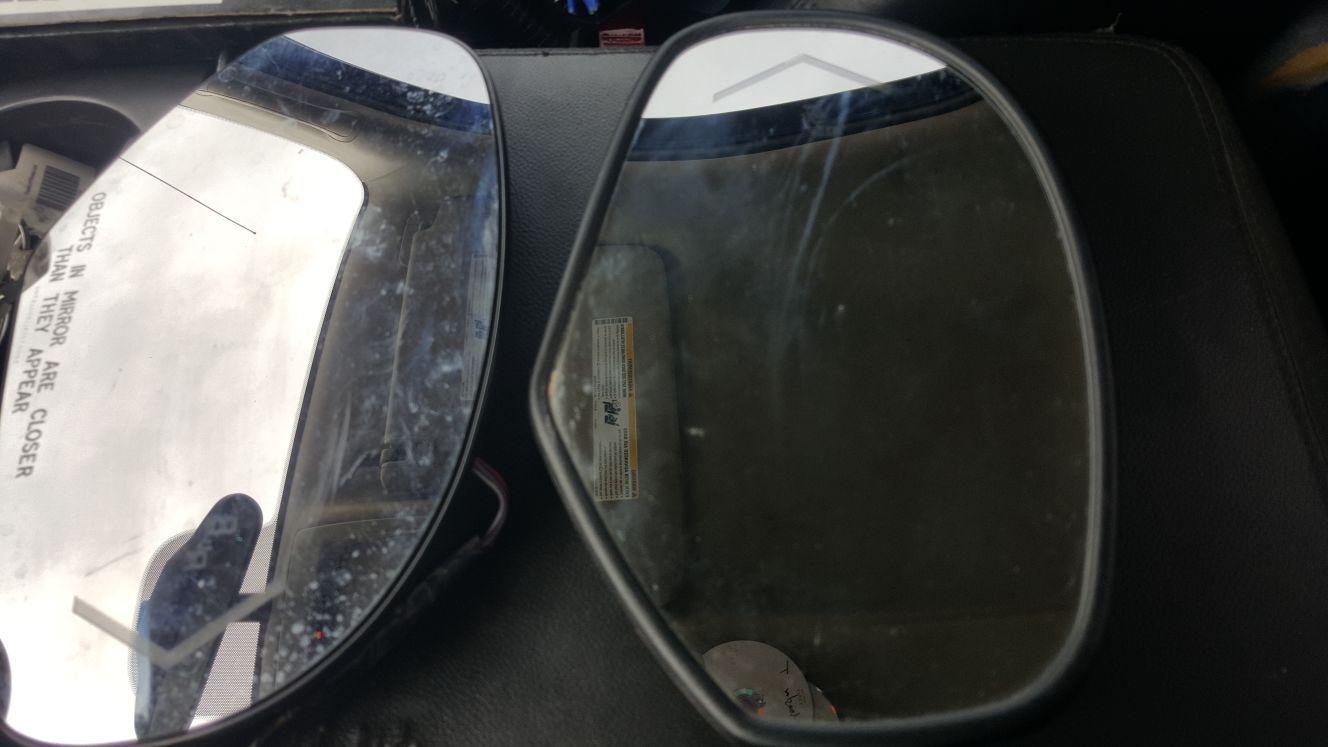 Silcerado 2008 led mirrors