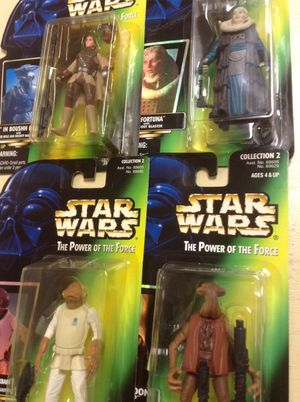 Star Wars power of the force figures for Sale in Orlando, FL