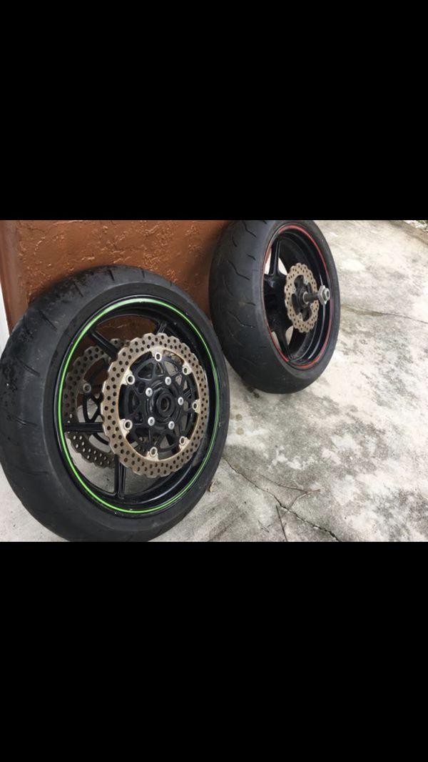 Ninja 636 Zx6r Wheel Tire For Sale In Miami Fl Offerup