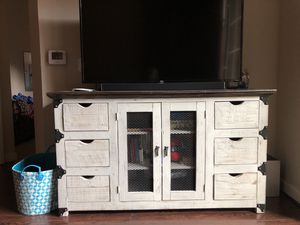 Solid Wood TV Stand for Sale in Washington, DC