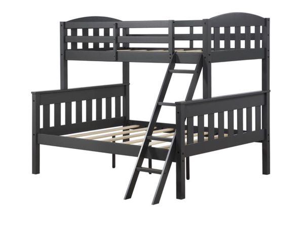 Brand New Twin Over Full Size Grey Bunk Bed For Sale In Virginia