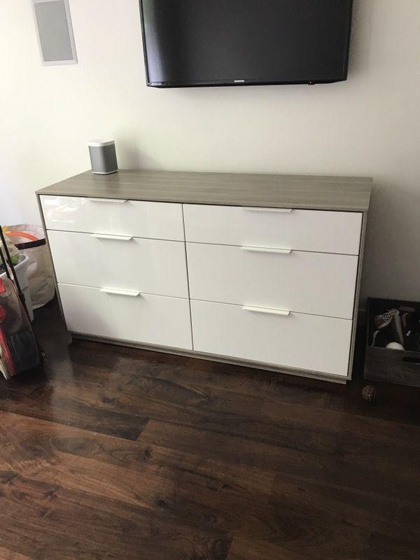 Rare Ikea Askvoll 6 Drawer Dresser