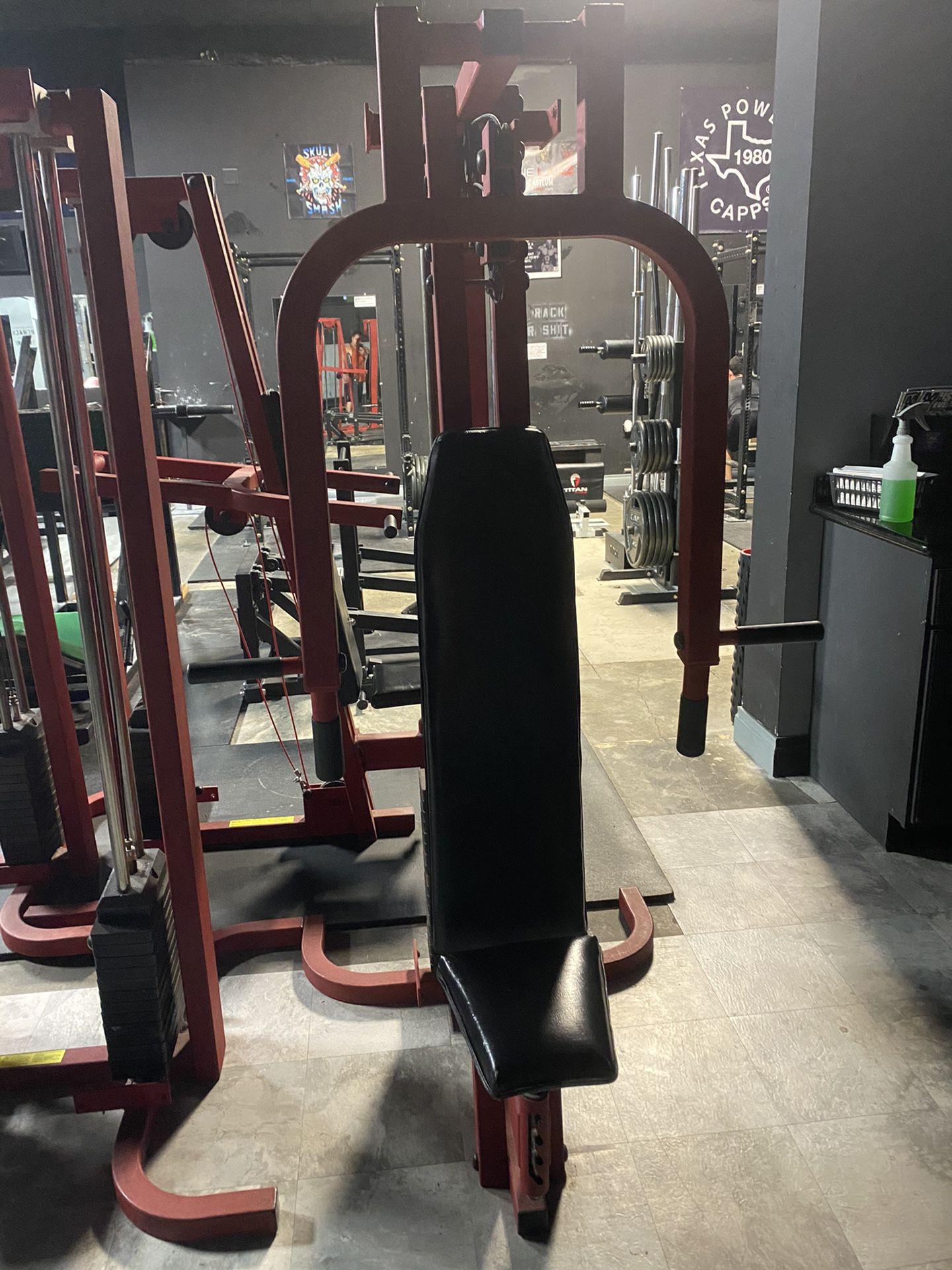 Chest/shoulder Machines