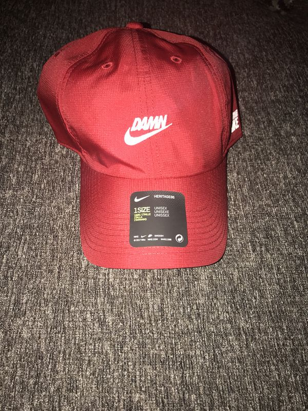 Nike x Kendrick Lamar DAMN hat Red for Sale in New York 7a208679e00