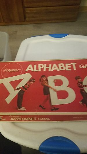1972 Alphabet kids Scrabble game complete for Sale in San Diego, CA