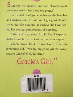 Hard cover book! Novel Gracie's girl Thumbnail