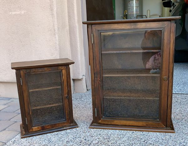 Pottery Barn Curio Cabinet Set For Sale In Scottsdale Az