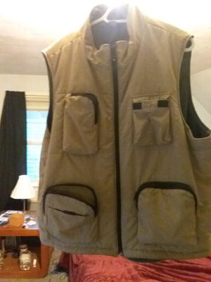 Fishing vest and two fly rod hard cases for Sale in Southington, CT