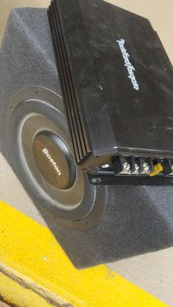 Boston subwoofer + Rockford Fosgate Amp Thumbnail