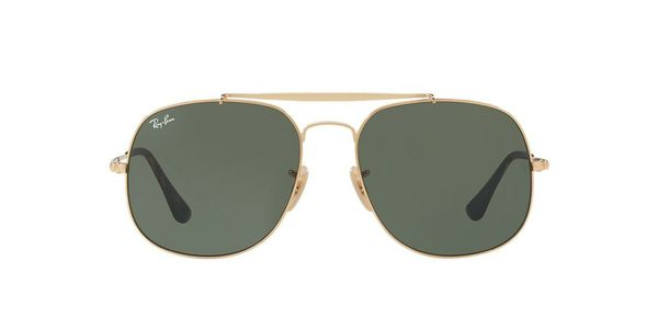 241405f889 Ray Ban gold frame black polorized General 3561 57D17 for Sale in ...