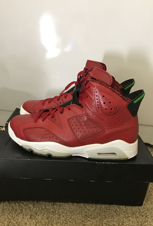 "9c232319728d AIR JORDAN 6 RETRO ""SPIZIKE"" SIZE 10 for Sale in Greenbelt"