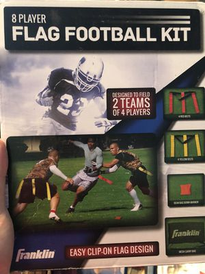 Flag football set for Sale in Martinsburg, WV