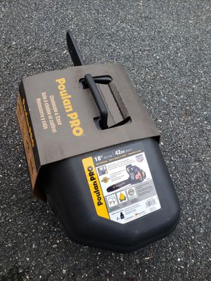New Poulan pro 18in 42cc Chainsaw for Sale in Kingsville, MD