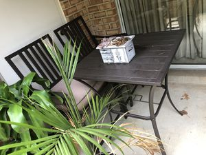 Outdoor table set! for Sale in Arlington, VA