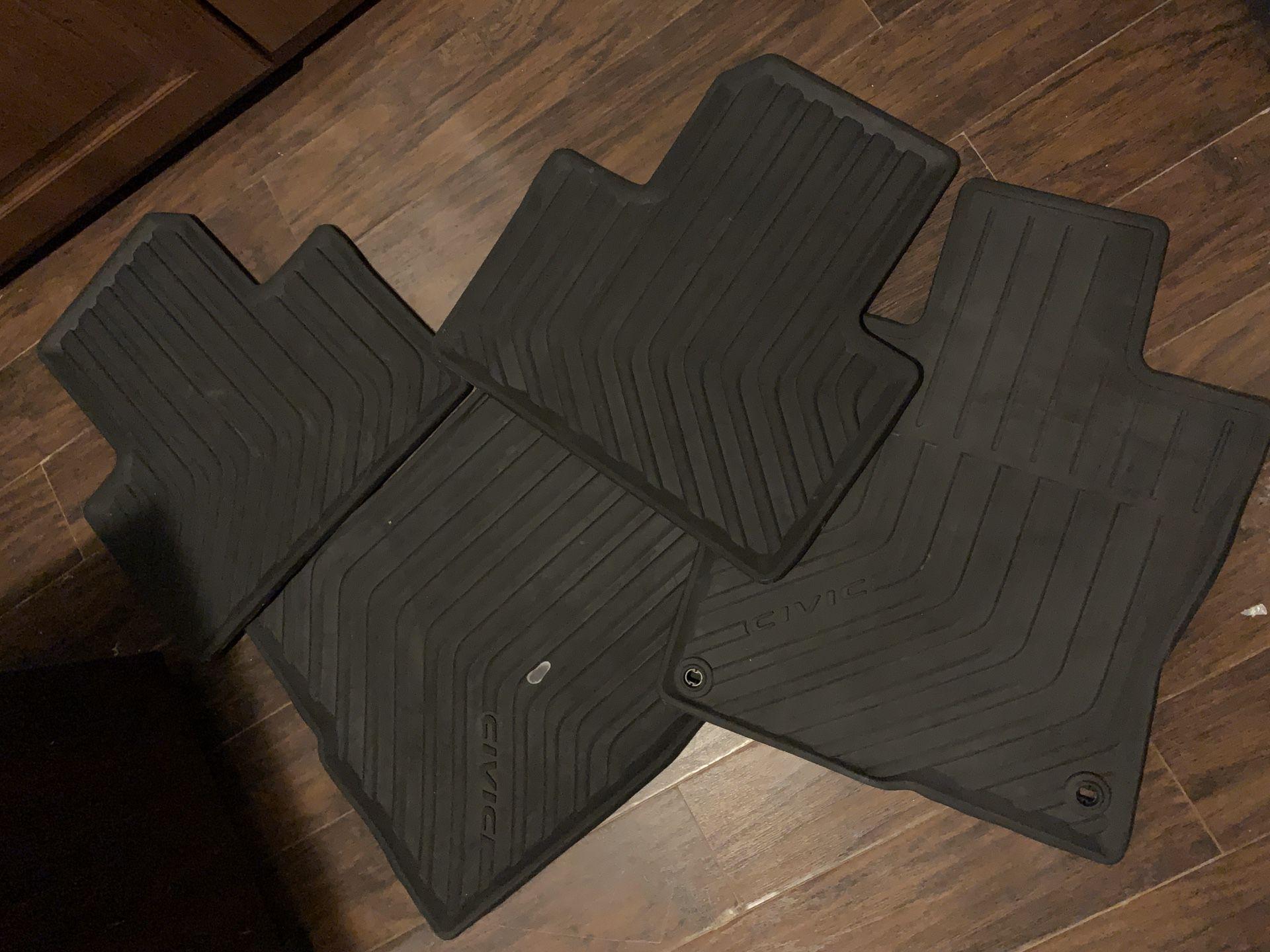Honda Civic floor mats