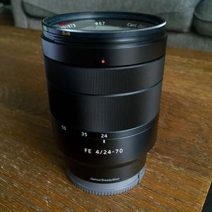 Sony 24-70mm F4 zoom lens for Sale in North Potomac, MD