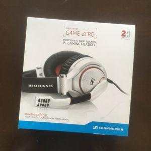 Sennheiser GAME ZERO Gaming Headset - White for Sale in San Francisco, CA