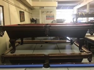 Craftmaster Pool Tabletotally Refinished For Sale In New Port - Craftmaster pool table