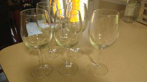 Wine glasses, set of 6 for Sale in Damascus, MD