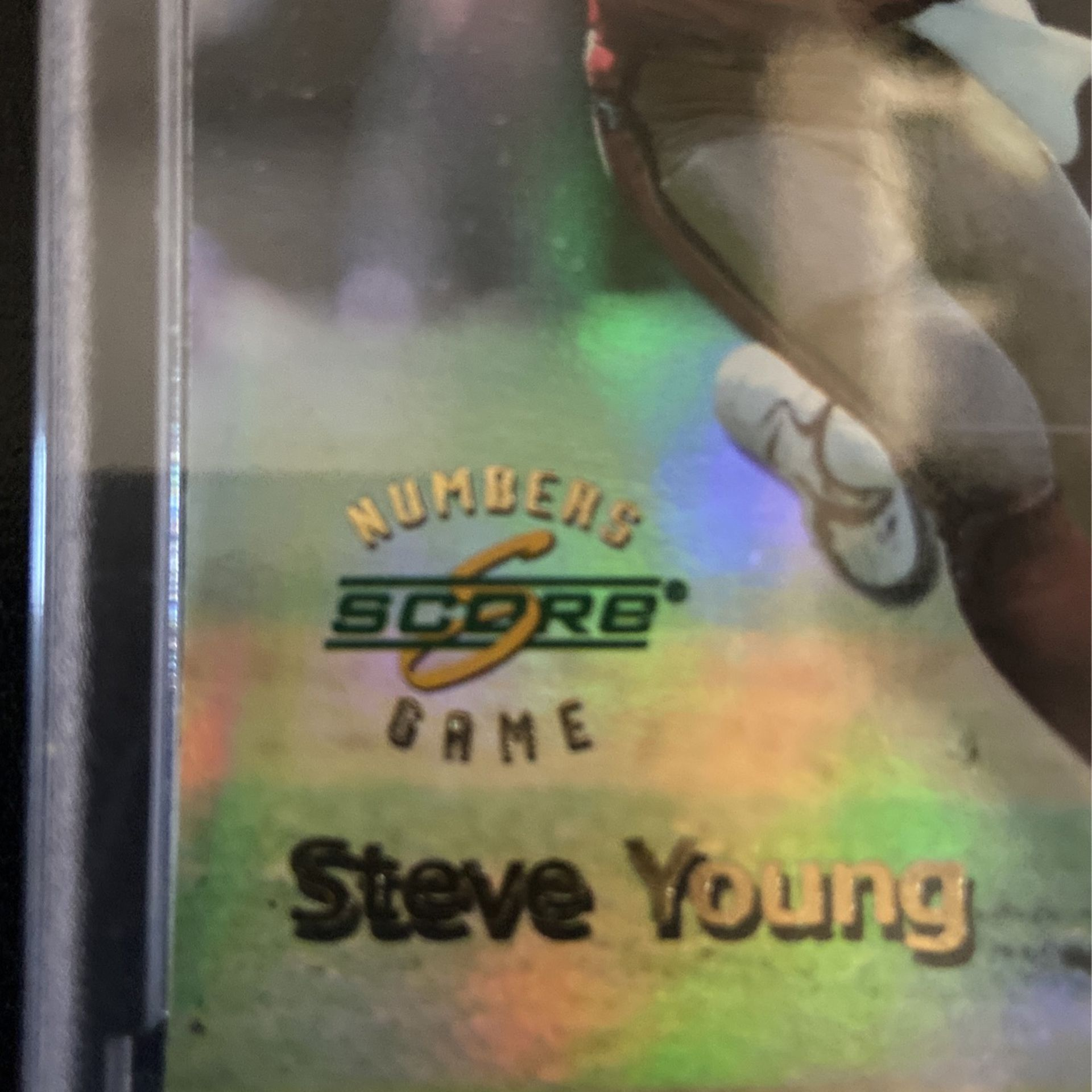 49ers Steve Young Rare Score Passing Yards Insert Card #/4,170 🔥