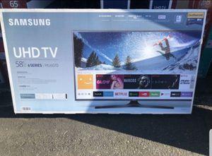 """Samsung UN58MU6070 58"""" 4K UHD LED Smart TV 2160p (FREE DELIVERY) for Sale in Renton, WA"""