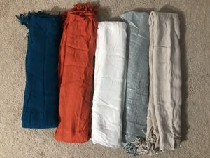 (5) scarves In excellent condition! From smoke free home.all for $15 (pick up only) for Sale in Alexandria, VA