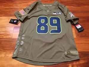 6b74c67f9 Nike Womens Seattle Seahawks Salute To Service Stitched Jersey Baldwin SZ  M
