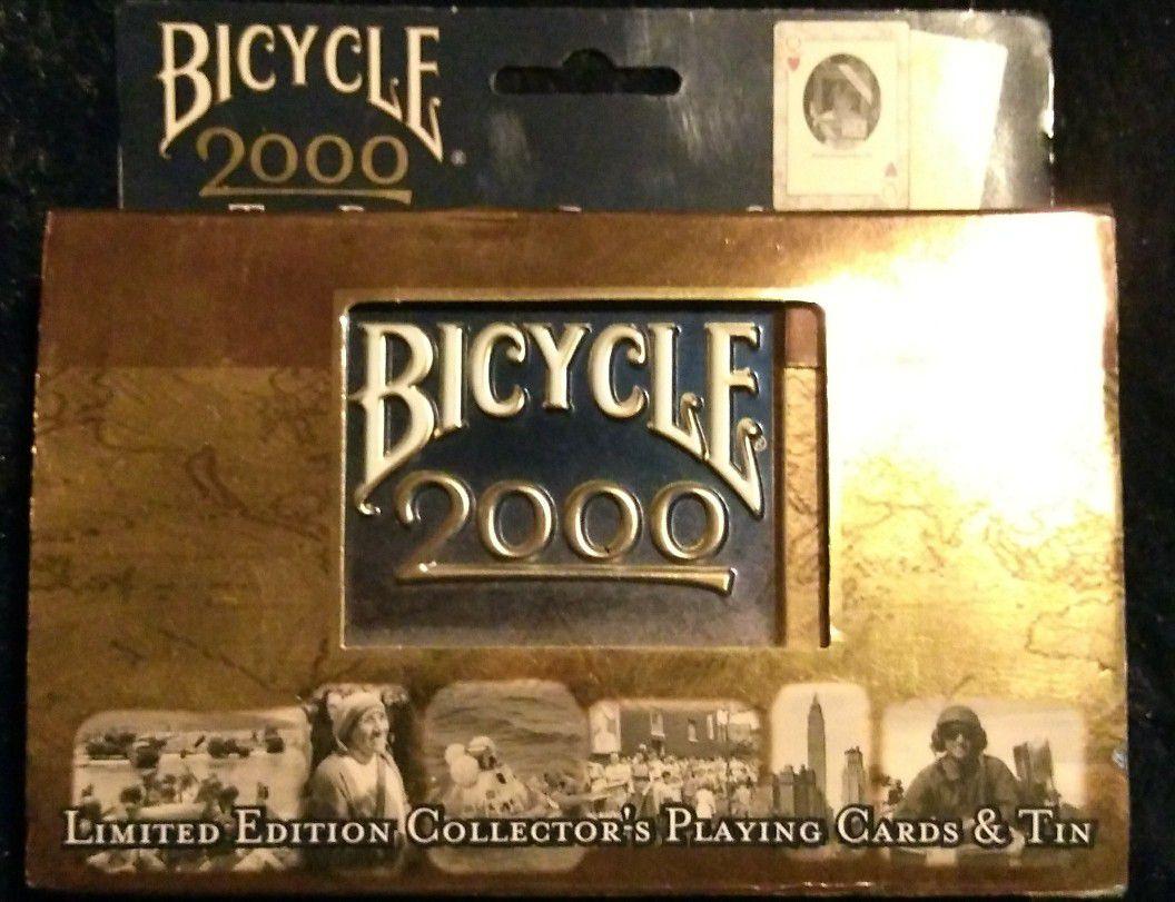 Collectors Millennium Tin & 2 deck playing cards