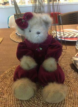 Vintage style self sitting teddy bear. for Sale in Scottsdale, AZ