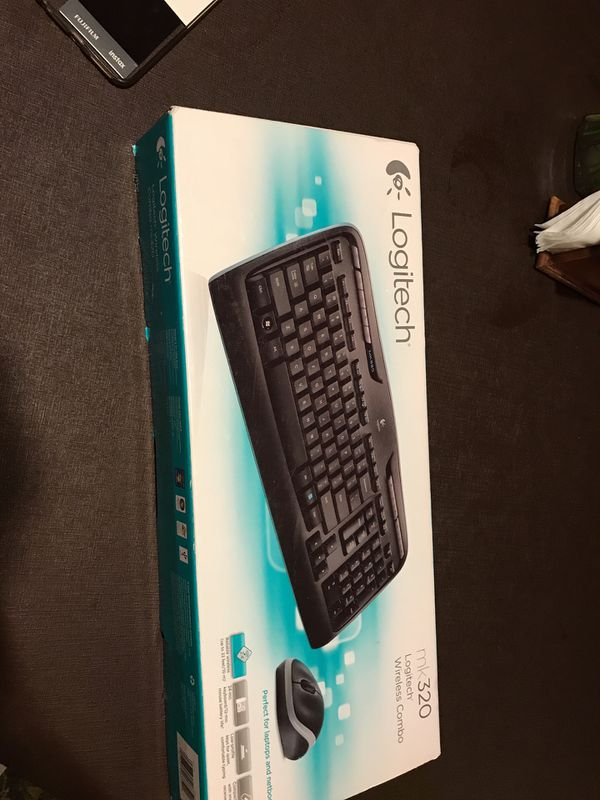 48ebe9b3c97 Keyboard and mouse (Logitech mk320) wireless for Sale in Richardson ...