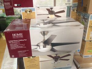 Decorators collection 52 inch large room ceiling fan Windward IV for Sale in Phoenix, AZ