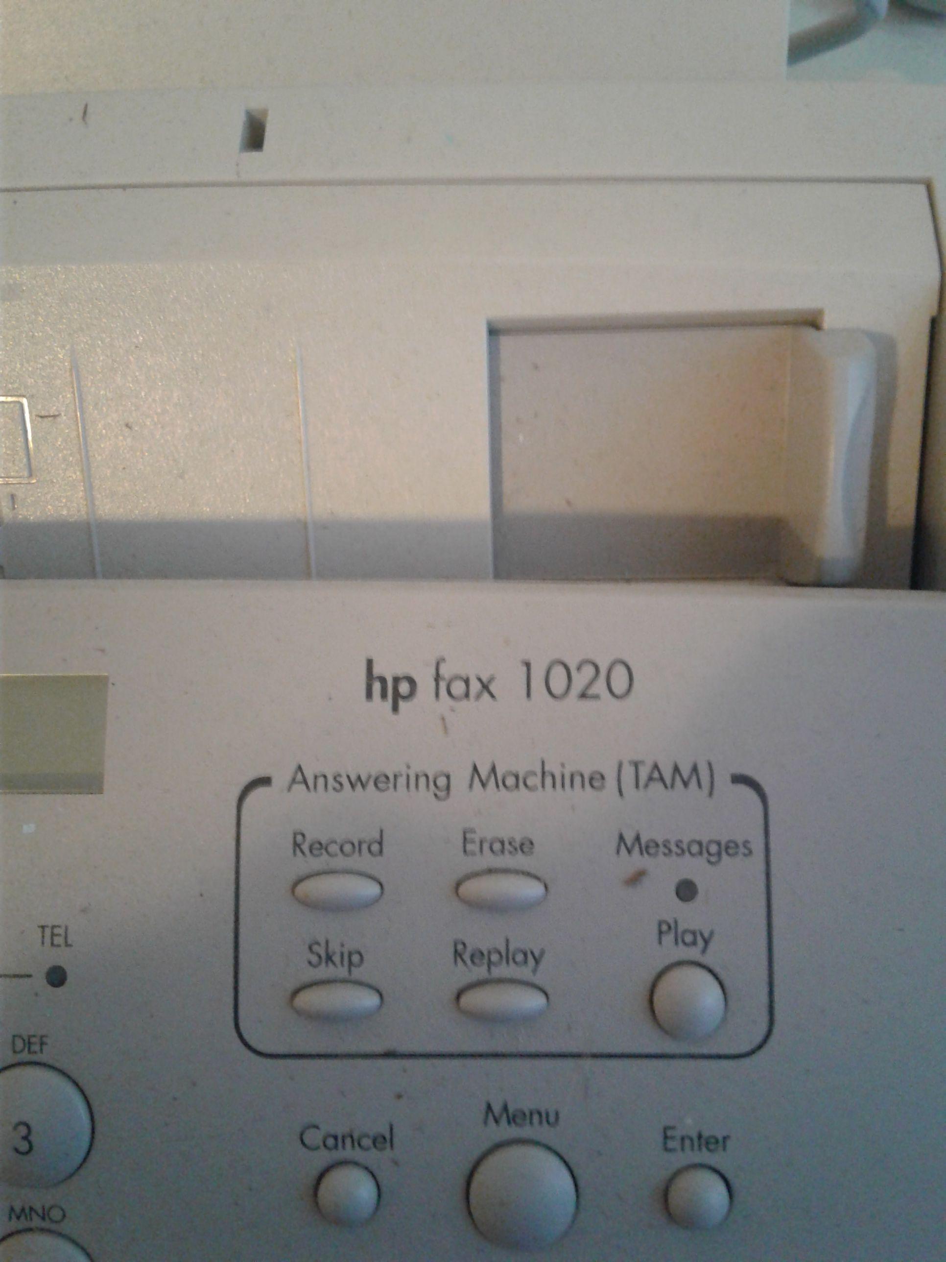 HP Fax 1020